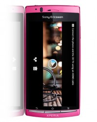 Sony-Ericsson Xperia arc S LT18i Pink