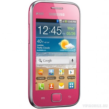 Samsung GT-S6802 Galaxy Ace DUOS Pink (розовый) [РосТест]