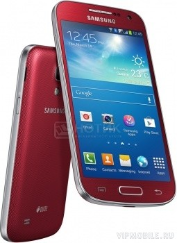 Samsung GT-I9192 Galaxy S4 mini Duos Red (красный)
