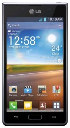 LG P705 Optimus L7 Black [РосТест]