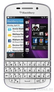 BlackBerry Q10 White (белый)