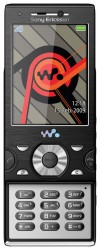 Sony-Ericsson W995 Black / Red / Silver